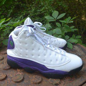 Nike Air Jordan XIII 13 Lakers Purple Size 11.5